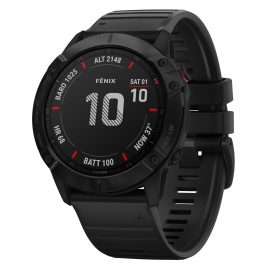 Garmin 010-02157-01 fenix 6X Pro Smartwatch Black 51 mm