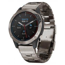 Garmin 010-02158-95 Quatix 6 Titan Marine GPS Smartwatch