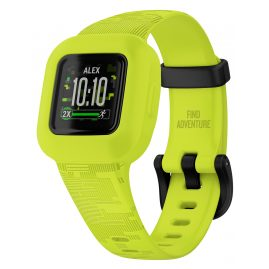 Garmin 010-02441-00 vivofit jr. 3 Kids Action Watch Digicamo Neon Green
