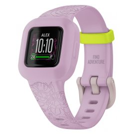 Garmin 010-02441-01 vivofit jr. 3 Children's Action Watch Flowers Pink/Green