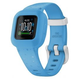 Garmin 010-02441-02 vivofit jr. 3 Kinder Action Watch Sterne Blau/Weiß