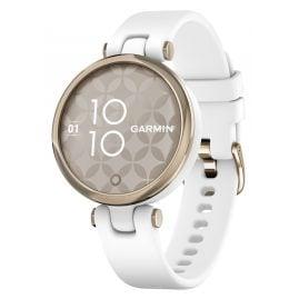Garmin 010-02384-10 Lily Sport Damen-Smartwatch Weiß/Elfenbein
