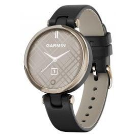 Garmin 010-02384-B1 Lily Classic Damen-Smartwatch Schwarz/Elfenbein