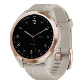 Garmin 010-02572-02 Approach S42 Golf Smartwatch Beige/Rose