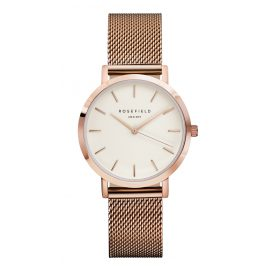 Rosefield TWR-T50 The Tribeca White/Rosegold Damenuhr