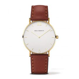 Paul Hewitt PH-SA-G-ST-W-1S Ladies' Watch Sailor Line White Sand