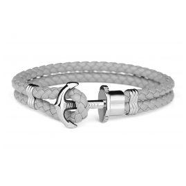 Paul Hewitt PH-PH-L-S-Gr-S Ankerarmband Grau/Silberfarben