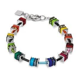 Coeur de Lion 4409/30-1500 Bracelet Geo Cube Multicolor