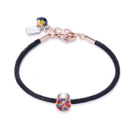 Coeur de Lion 0218/30-1500 Ladies' Bracelet Multicolour/Black/Rose
