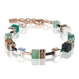 Coeur de Lion 4905/30-0510 Ladies´ Bracelet Green/Beige