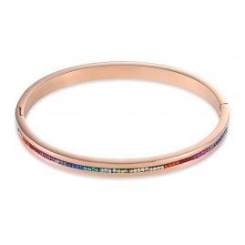 Coeur de Lion 0226/37-1500 Damen-Armreif Multicolor