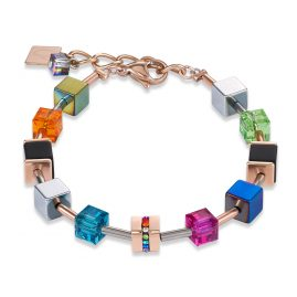 Coeur de Lion 4980/30-1500 Bracelet GeoCUBE Multi-Colour