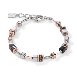 Coeur de Lion 5008/30-1631 Ladies Bracelet rose gold tone / silver