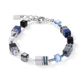 Coeur de Lion 5011/30-0700 Ladies' Bracelet GeoCUBE Blue