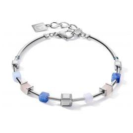 Coeur de Lion 5059/30-0710 Damen-Armband Edelstahl GeoCUBE big
