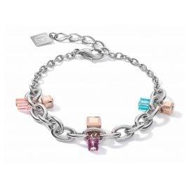 Coeur de Lion 5063/30-1578 Damen-Armband Casual & Chunky Chain Art Nouveau