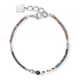 Coeur de Lion 5035/30-1218 Armband für Damen Grau