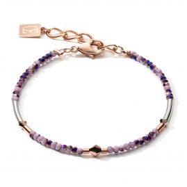 Coeur de Lion 5080/30-0846 Damen-Armband Lila