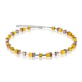 Coeur de Lion 4016/10-0100 Damen-Halskette Gelb