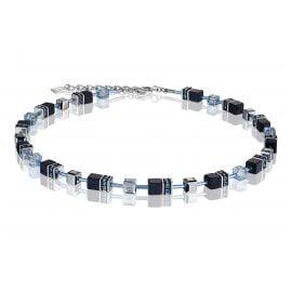 Coeur de Lion 4015/10-0721 Damen-Halskette Nachtblau