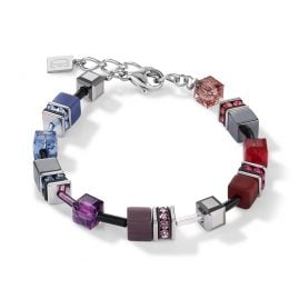Coeur de Lion 2840/30-1578 Ladies Bracelet GeoCUBE Multicolor Art Nouveau