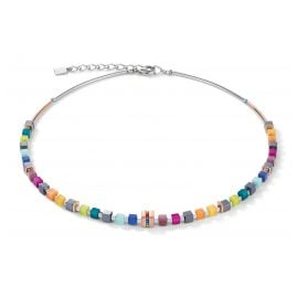 Coeur de Lion 5009/10-1500 Damen-Kette Multicolor