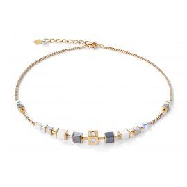 Coeur de Lion 5051/10-1600 Ladies' Necklace Stainless Steel Gold Tone