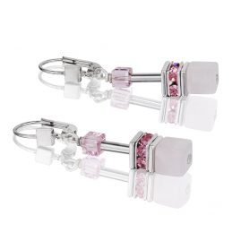 Coeur de Lion 4017/20-1920 Earrings GeoCUBE Light Rose
