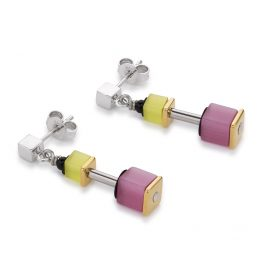 Coeur de Lion 4909/21-1520 Stud Earrings Multicolor Rainbow
