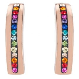 Coeur de Lion 0226/21-1500 Women's Stud Earrings Multi-Coloured