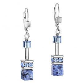 Coeur de Lion 4017/20-0700 Damen-Ohrringe Ohrhänger Blau