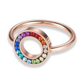 Coeur de Lion 4973/40-1500 Women's Ring Multi-Coloured