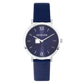 Coeur de Lion 7600/71-0707 Ladies' Wristwatch Blue