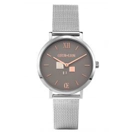 Coeur de Lion 7600/70-1724 Women's Watch Grey/Rose Gold Tone