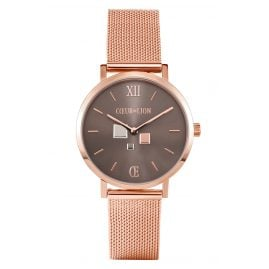 Coeur de Lion 7601/70-1636 Ladies' Watch Rose Gold Tone/Brown