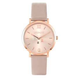 Coeur de Lion 7601/71-1036 Women's Watch Taupe/Rose Gold-Coloured