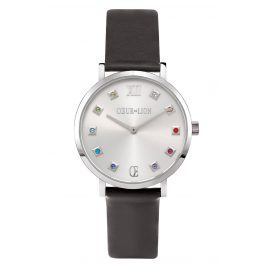 Coeur de Lion 7610/71-1224 Ladies' Watch Black/Multi-Coloured