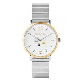 Coeur de Lion 7604/72-1714 Women's Watch Brilliant White Two-Colour Steel