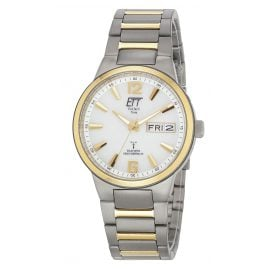 ETT Eco Tech Time EGT-11322-11M Solar Drive RC Mens Watch Everest II