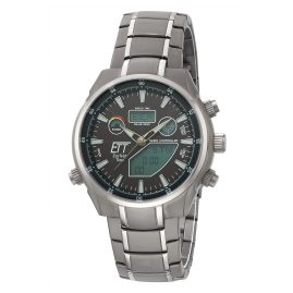 ETT Eco Tech Time EGT-11339-60M Solar Drive RC Mens Watch Aquanaut II