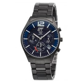 ETT Eco Tech Time EGT-12048-31M Men's Watch Solar Chronograph Titanium