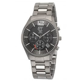 ETT Eco Tech Time EGT-12049-51M Men's Watch Solar Chronograph Titanium