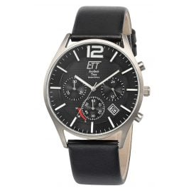 ETT Eco Tech Time EGT-12051-21L Men's Watch Solar Chronograph Titanium