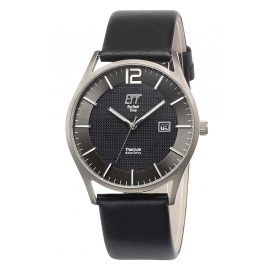ETT Eco Tech Time EGT-12056-51L Men's Watch Solar Titanium