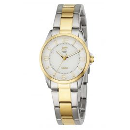 ETT Eco Tech Time ELS-12070-12M Ladies Watch Solar Drive Kalahari
