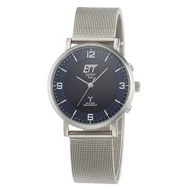 ETT Eco Tech Time ELS-11409-81M Radio-Controlled Solar Ladies' Watch Atacama Mesh Strap