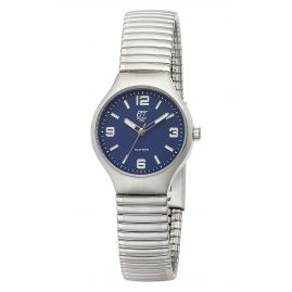 ETT Eco Tech Time ELS-12088-31M Solar Women's Watch Sonora with Elastic Bracelet Blue