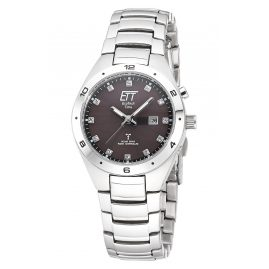 ETT Eco Tech Time ELS-11442-21M Solar Radio-Controlled Watch for Ladies Altai