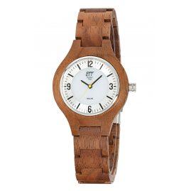 ETT Eco Tech Time ELW-12126-42SET Solar Damen-Armbanduhr Osoyoos Holz