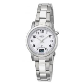 Master Time MTLA-10301-12M Ladies Radio-Controlled Watch Basic Classic
